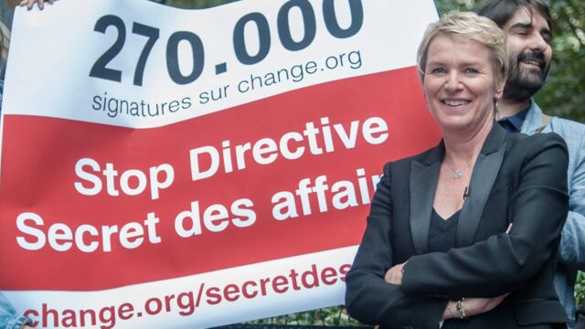 """Elise Lucet part en guerre contre la directive """"Secret des affaires"""""""