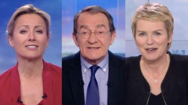 Anne-Sophie Lapix, Jean-Pierre Pernaut, Élise Lucet... ils ont bien changé depuis qu'ils sont à l'antenne (DIAPORAMA)