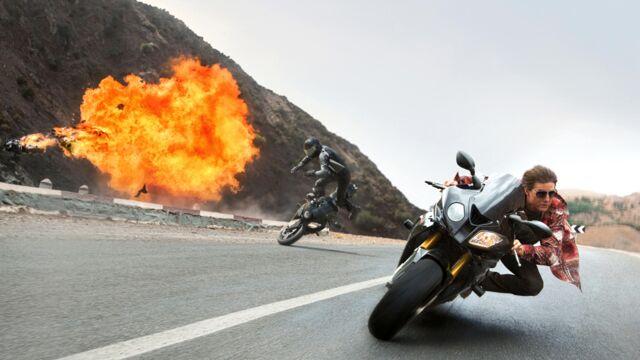 Mission Impossible 5 - Rogue Nation (France 2) : Tom Cruise, cascadeur sans peur ? Retour sur ses cascades les plus dingues (PHOTOS)