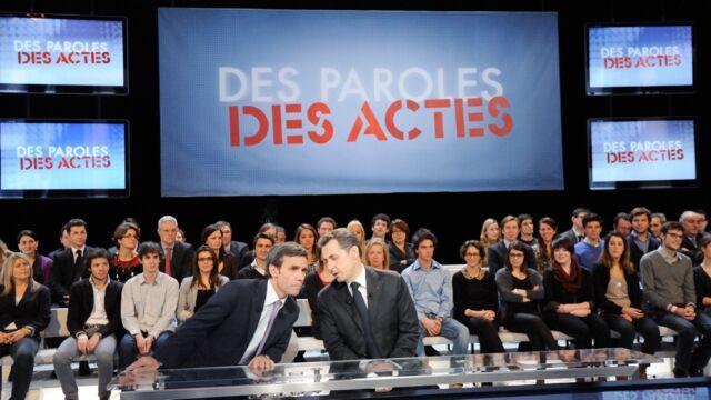 France 2 : David Pujadas reçoit Nicolas Sarkozy dans Des paroles et des actes le 4 février