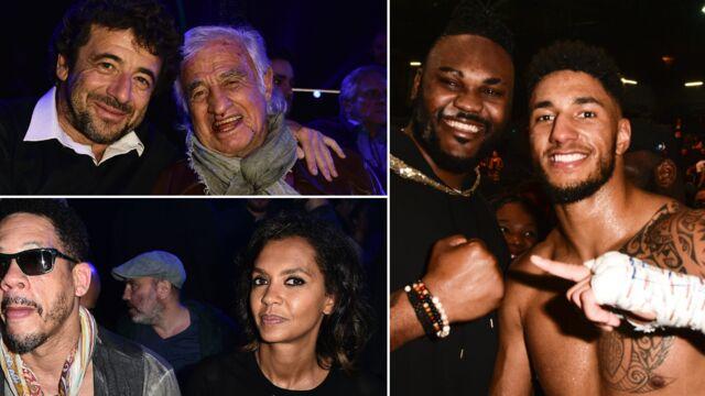 Karine Le Marchand et JoeyStarr, Belmondo, Bruel…Le Tout-Paris est venu encourager Tony Yoka (PHOTOS)