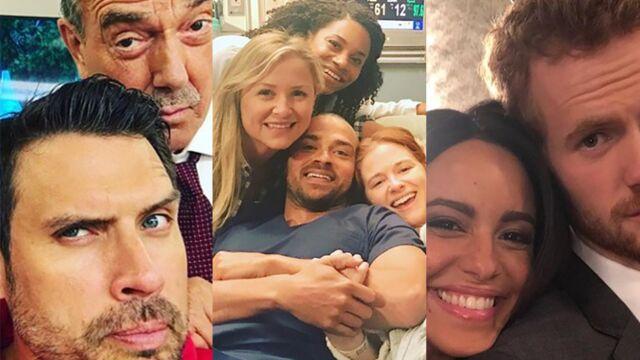 Départs dans Grey's Anatomy, complicité dans Demain nous appartient... les photos de tournages de la semaine (PHOTOS)