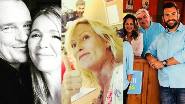 Les acteurs des Mystères de l'amour soudés, clap de fin pour Rebecca Hampton… Les photos tournages de la semaine