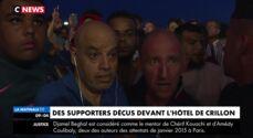 Les supporters déçus et en colère contre les Bleus après l'annulation de leur venue au Crillon (VIDEO)