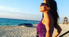 En vacances, Fabienne Carat fait profiter ses fans de ses prouesses à la piscine (VIDEO)