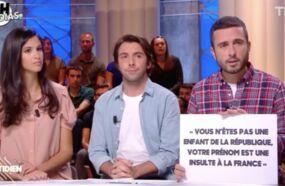 Les propos d'Éric Zemmour envers Hapsatou Sy, coupés au montage dans Les Terriens du dimanche (C8), révélés par Quotidien (TMC)