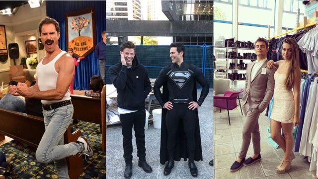 Will & Grace, Supergirl, Demain nous appartient... plongez dans les coulisses de vos séries préférées (PHOTOS)