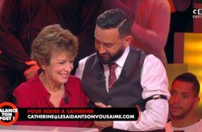 Cyril Hanouna en larmes après le témoignage de Catherine Laborde sur la maladie de Parkinson dans Balance ton post ! (VIDEOS)
