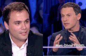 Clash dans On n'est pas couché : Marc-Olivier Fogiel tacle Charles Consigny sur Twitter