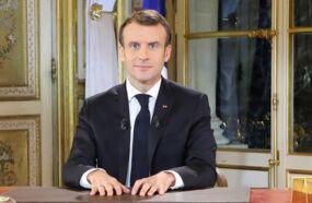 Discours d'Emmanuel Macron : ce détail physique qui a beaucoup amusé les internautes