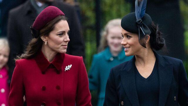 Meghan Markle et Kate Middleton plus complices que jamais à la messe de Noël (PHOTO)