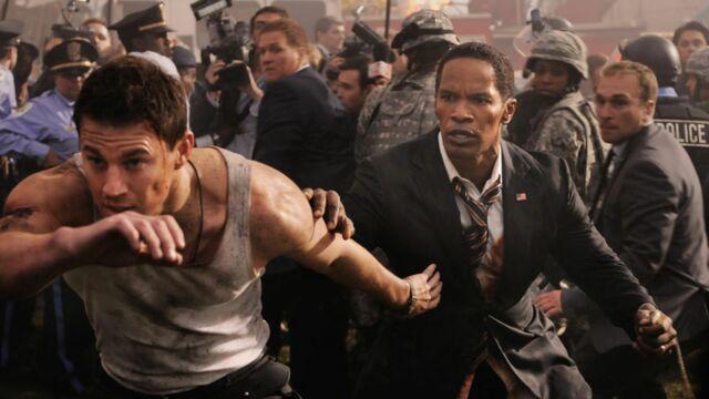 Audiences TV : succès pour le film White House down sur TF1 leader de la soirée