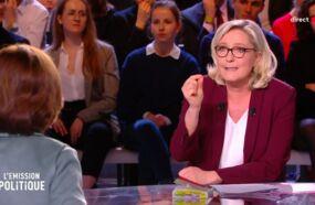 L'émission politique : Marine Le Pen se trompe sur le montant du Smic, Nathalie Loiseau lui lance une pique (VIDEO)