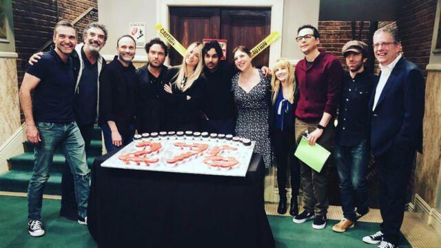 Un record pour The Big Bang Theory, Linda Hardy sur France 3, Eva Longoria au travail avec son bébé... Les tournages de la semaine (PHOTOS)