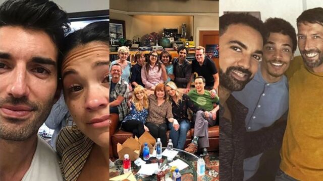 Les adieux de Big Bang Theory, les stars de Jane The Virgin effondrées... les tournages de la semaine (PHOTOS)