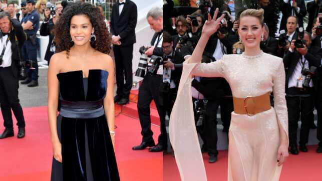 Cannes 2019 : Tina Kunakey Magnifique Sur Les Marches