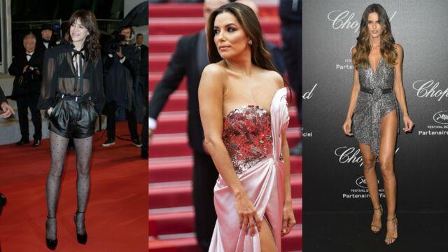Cannes 2019 : Charlotte Gainsbourg, Eva Longoria… Les robes fendues et transparentes qui ont marqué la quinzaine (PHOTOS)