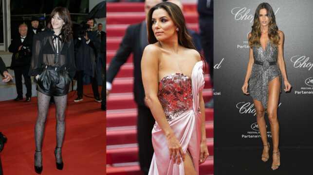 Cannes 2019 : Charlotte Gainsbourg, Eva Longoria… Les robes fendues et transparentes qui ont marqué la quinzaine (PHOTOS) - cinema - Télé 2 semaines