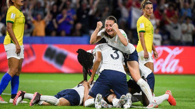 Audiences TV : succès pour le huitième de finale de Coupe du Monde féminine France/Brésil sur TF1 leader de la soirée