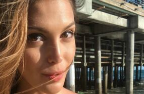 Iris Mittenaere partage une incroyable photo d'elle en bikini à Los Angeles