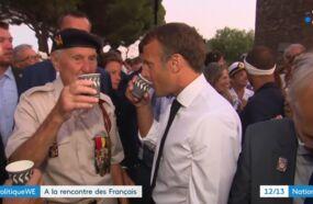 Quand Emmanuel Macron commet une gaffe en proposant à sa femme... une petite anisette (VIDEO)
