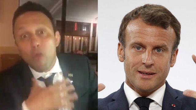 Une star brésilienne des arts martiaux menace violemment Emmanuel Macron et insulte son épouse Brigitte