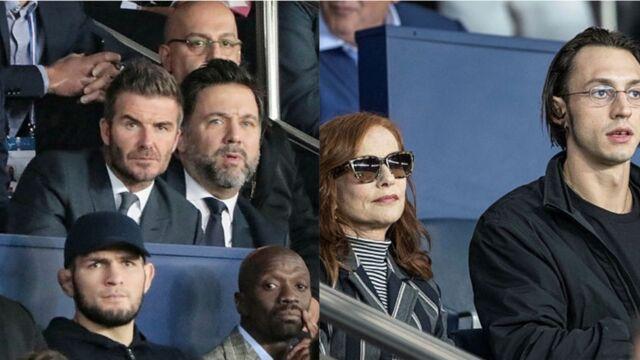 David Beckham, Roméo Elvis, Isabelle Huppert… les stars sont venues en masse assister au match PSG/Real Madrid (PHOTOS)