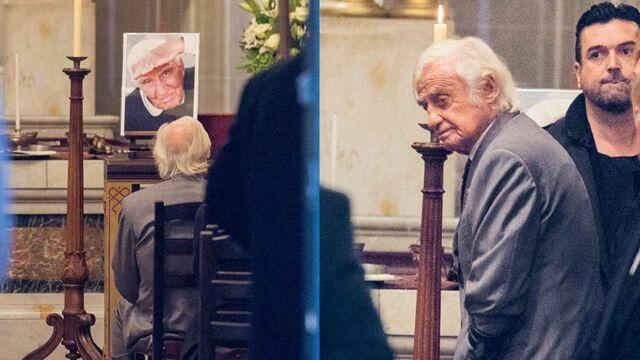 Obsèques de Charles Gérard : Jean-Paul Belmondo très ému pour un dernier adieu à son ami (PHOTOS)