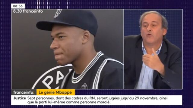 """Kylian Mbappé sévèrement taclé par Michel Platini : """"La vitesse ne fait pas tout..."""""""