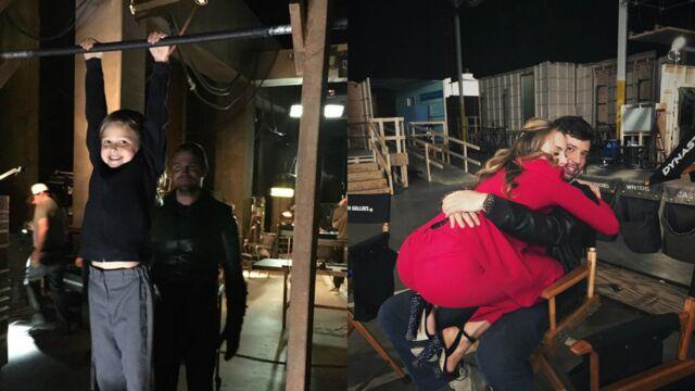 Stephen Amell ému par sa fille sur Arrow, beaucoup d'amour sur Dynastie… Les meilleures photos coulisses de vos séries (PHOTOS)