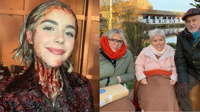 Deux stars dans Joséphine, ange gardien, Kiernan Shipka en sang dans Les Nouvelles Aventures de Sabrina... Les tournages séries de la semaine (PHOTOS)