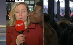 La journaliste Claire Sergent embrassée de force en direct sur CNews, elle exprime sa colère sur Twitter (VIDEO)