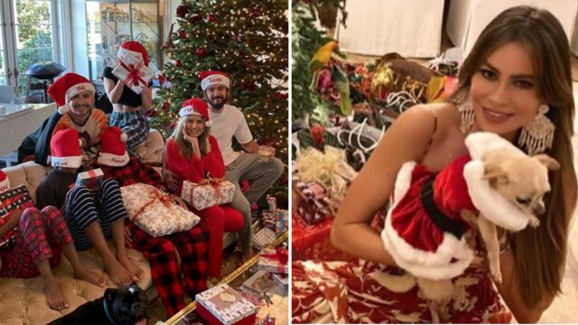 Elodie Gossuin, David Beckham, Sofia Vergara, Nabilla, Christophe Licata… Comment les people ont passé Noël (PHOTOS)