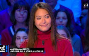Vaimalama Chaves explique pourquoi elle a été rappelée à l'ordre par Sylvie Tellier lors de son année de Miss France (VIDEO)