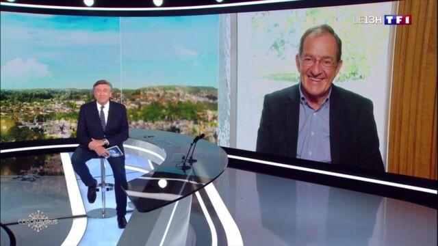 """L'anniversaire """"un peu particulier"""" de Jean-Pierre Pernaut en duplex sur TF1 et la jolie surprise de ses équipes (VIDEO)"""