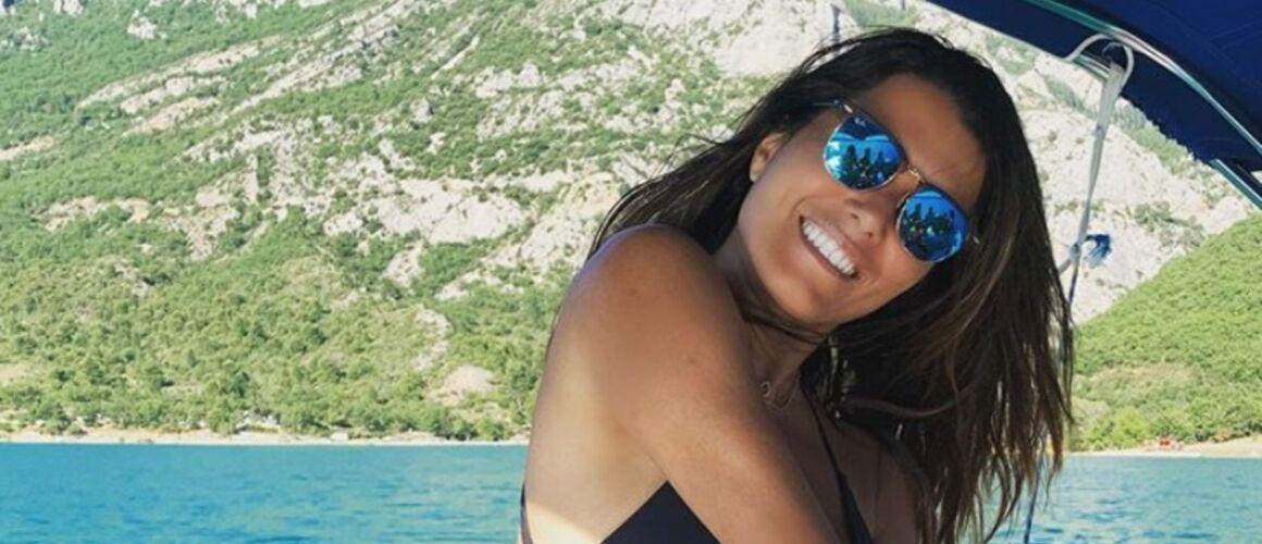"""""""Un triste exemple"""" : Karine Ferri sauve une tortue et publie un message fort contre la pollution - actu - Télé 2 semaines"""
