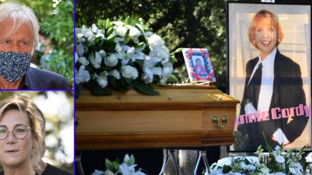 Funérailles d'Annie Cordy : les adieux de sa nièce, Michèle Torr, Dave, Virginie Hocq…(PHOTOS)