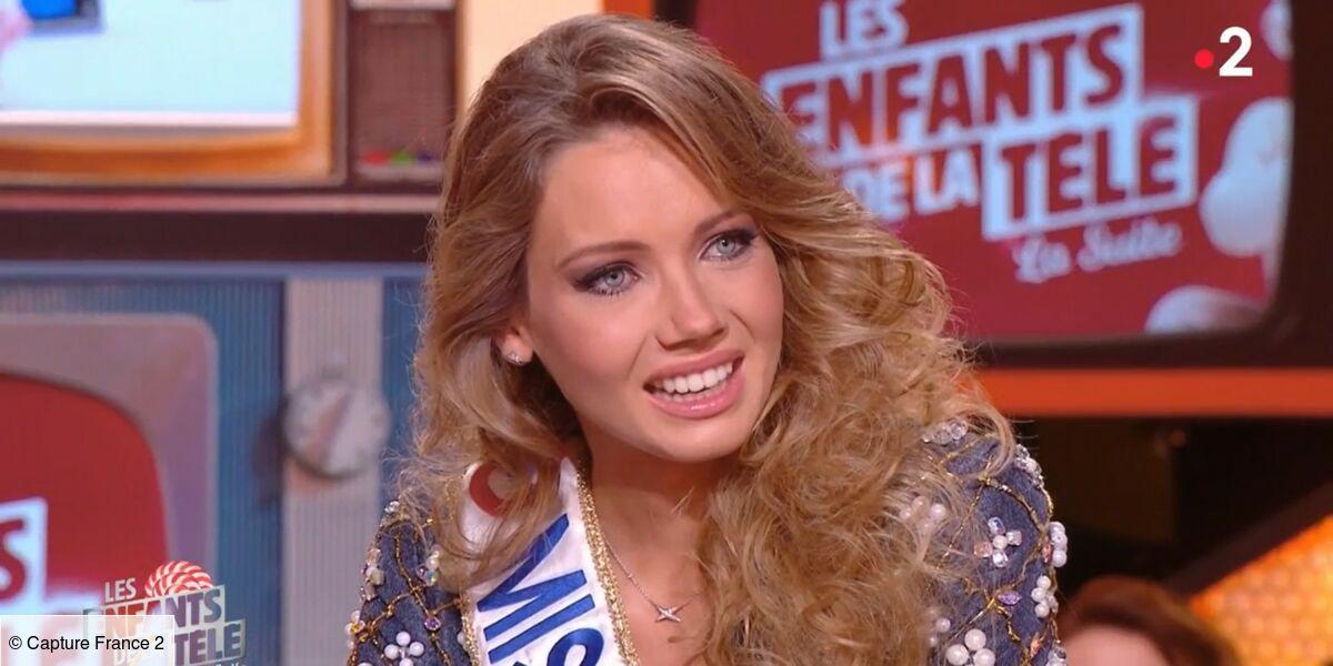 Amandine Petit (Miss France 2021) émue aux larmes par une surprise de Laurent Ruquier (VIDEO) - Télé Loisirs.fr