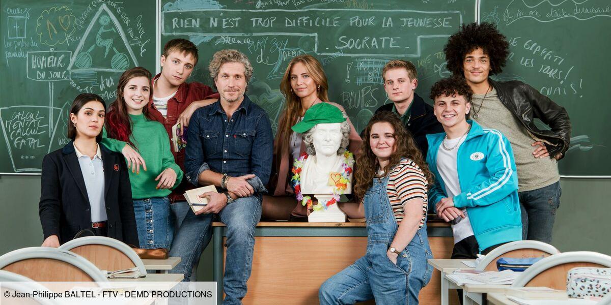 La Faute à Rousseau (France 2) : la série a-t-elle été tournée dans un vrai lycée ? - Télé Loisirs.fr