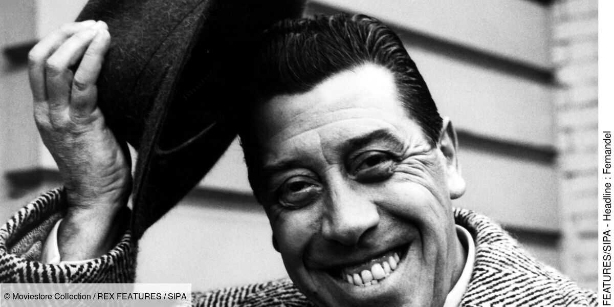 Fernandel est mort il y a cinquante ans : comment l'amour lui a inspiré son nom de scène - Télé Loisirs.fr