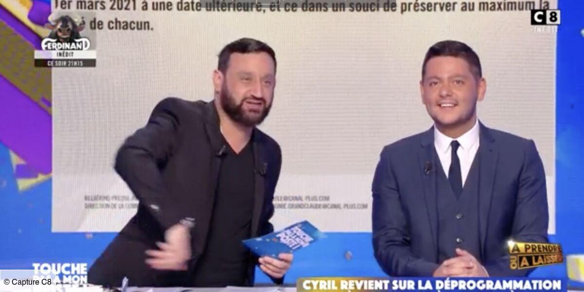 Déprogrammation d'A prendre où à laisser : Cyril Hanouna dévoile ce qui va remplacer le jeu sur C8 ! (VIDEO) - Télé Loisirs.fr