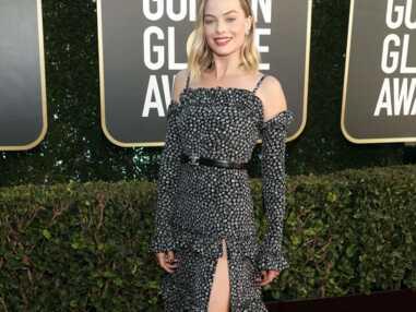 Margot Robbie belle des champs, Salma Hayek flamboyante... Le tapis rouge (réduit) des Golden Globes 2021