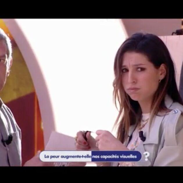 """Effrayée, Laury Thilleman refuse de se prêter à une expérience sur le plateau d'Antidote : """"On m'a pas demandé de signer de décharge"""" (VIDEO)"""