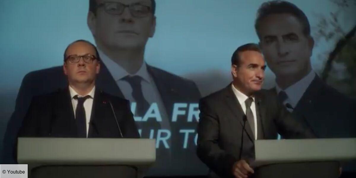 Présidents : le teaser du film avec Jean Dujardin en Nicolas Sarkozy ne remporte pas le vote des internautes - Télé Loisirs.fr