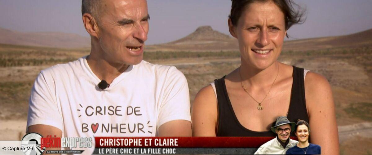 """""""Papa, t'es sérieux là ?!"""" : cette énorme bourde de Christophe (Pékin Express) qui a agacé Claire et fait rire les autres binômes !"""