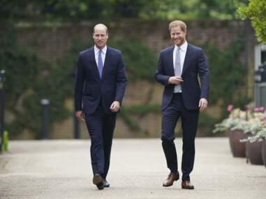 William et Harry réunis pour rendre hommage à Lady Diana