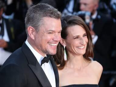 Cannes 2021 : Matt Damon et Camille Cottin très chics et complices sur le tapis rouge de Stillwater