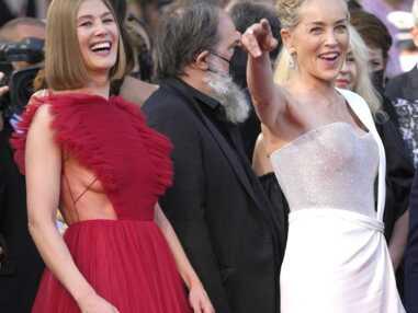 Cannes 2021 : Sharon Stone, Jean Dujardin… Une dernière montée des marches sublime