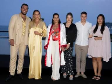 Stéphanie de Monaco entourée de ses enfants au gala Fight Aids Monaco 2021