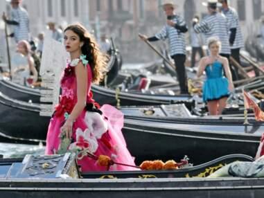 """Deva Cassel et Leni Klum : les """"filles de"""" superbes chez Dolce & Gabbana"""